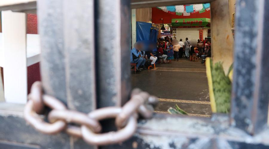 Continúan protestas en el Mercado 20 de Noviembre