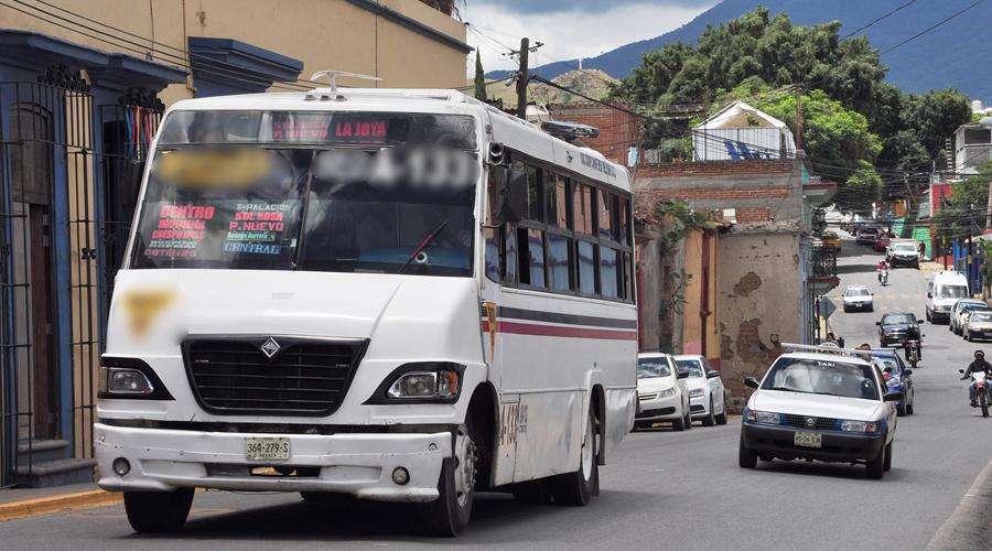 Buscan descentralizar rutas de transporte urbano en la capital oaxaqueña | El Imparcial de Oaxaca
