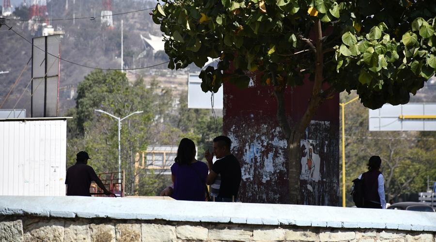 Reina inseguridad en el Parque del Amor en Oaxaca