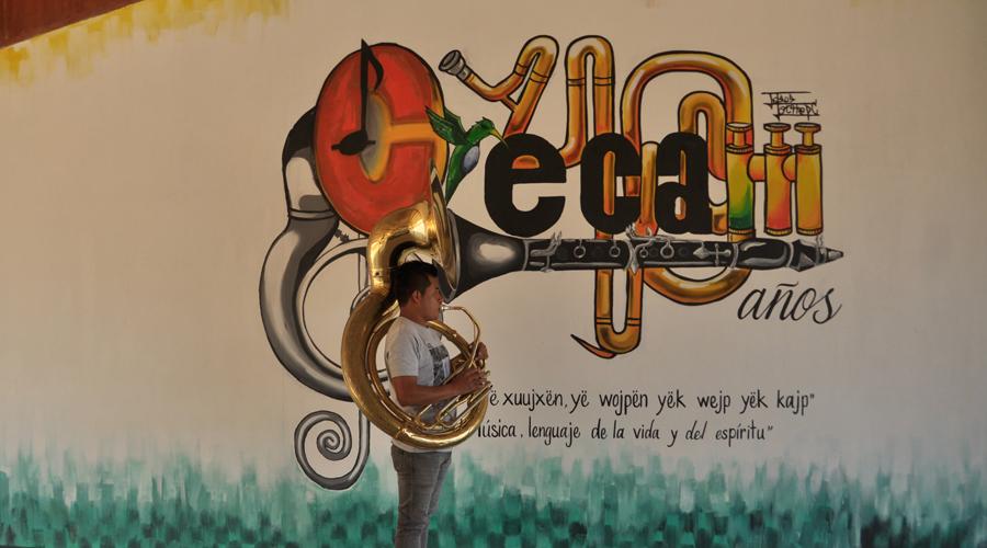 El Centro de Capacitación Musical y Desarrollo de la Cultura Mixe va nuevamente por reconocimiento jurídico