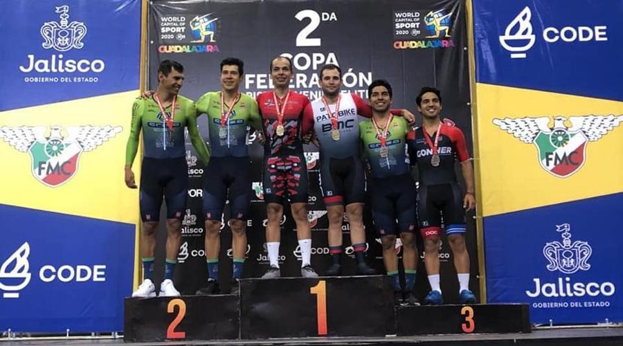 El pedalista oaxaqueño Iván Carbajal busca su pase a Tokio 2020