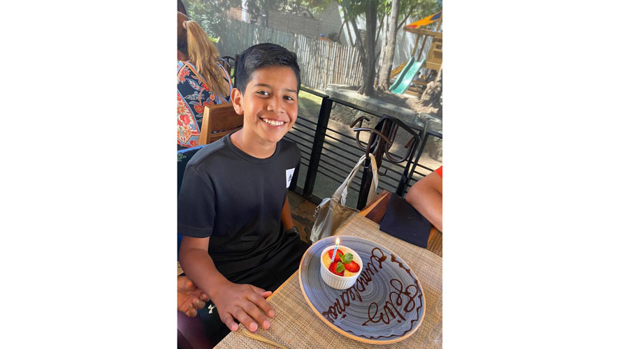 Emilio, celebró sus 12 años   El Imparcial de Oaxaca