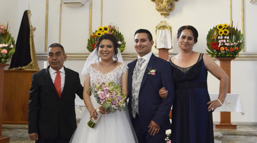 Emmanuel y Cynthia, felices por siempre