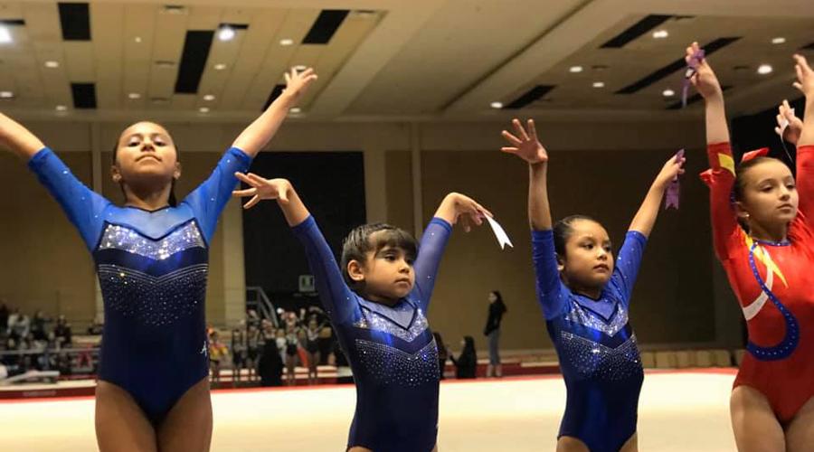 Lucieron gimnastas oaxaqueñas en la Copa Daniel Corral