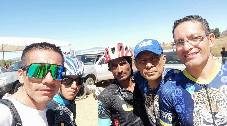 Se lleva a cabo carrera de MTB en Miahutlán