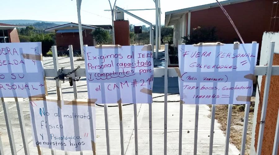 Padres de familia denuncian omisión en agresiones del CAM 24 en Tamazulápam | El Imparcial de Oaxaca