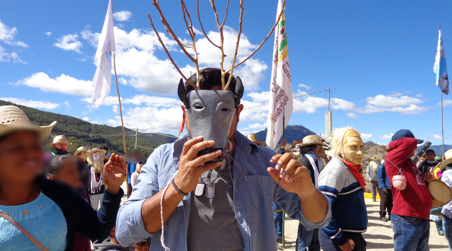 Quieren preservar las máscaras de carnaval en Putla, Oaxaca