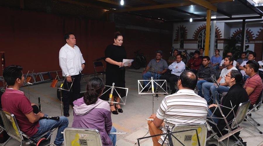 Hay nuevo director para Banda de Música del Estado   El Imparcial de Oaxaca