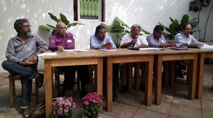 Ejes de jornada cultural sobre maíz
