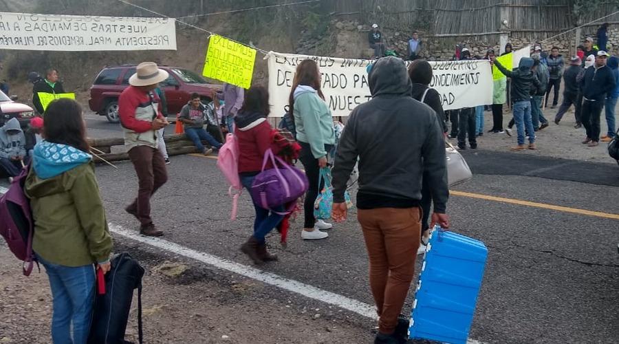 Habitantes de la Reforma en Huajuapan bloquean carretera | El Imparcial de Oaxaca