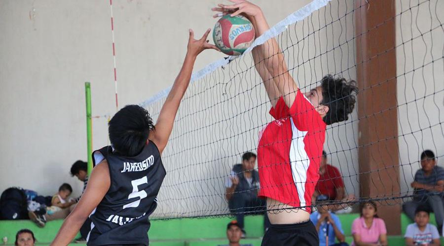 Continúan acciones en voleibol de fase estatal de Juegos Nacionales Conade 2020