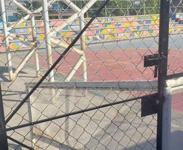 Cierran espacio para el deporte en Infonavit Primero de Mayo de Oaxaca