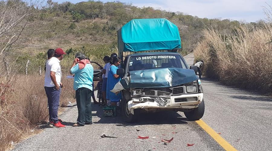 Dos lesionados en accidente en Pinotepa | El Imparcial de Oaxaca