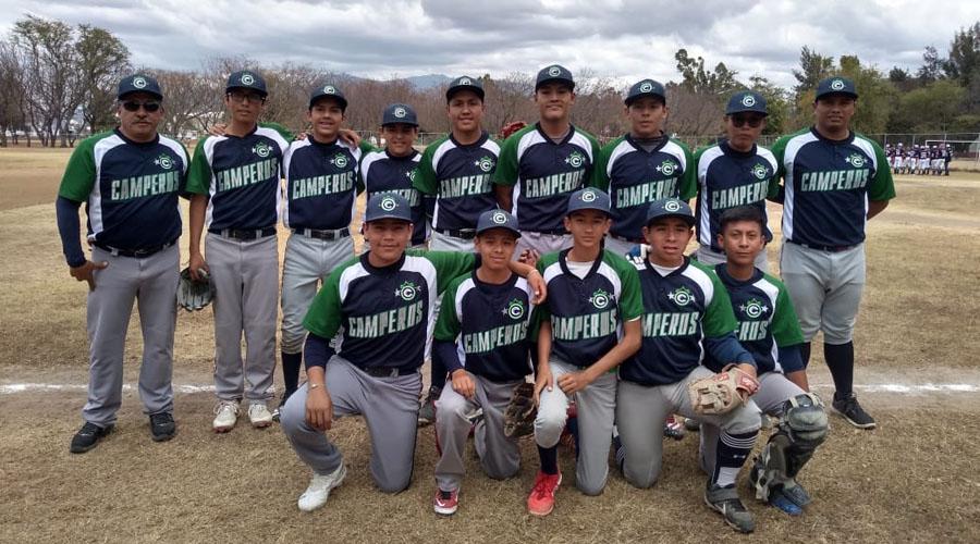 Los Camperos de San Sebastián, Etla vencieron en la Liga Monte Albán   El Imparcial de Oaxaca