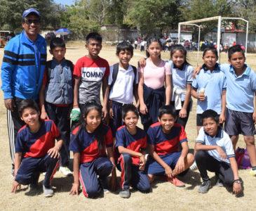 En Cuilápan se vivió la convivencia deportiva escolar