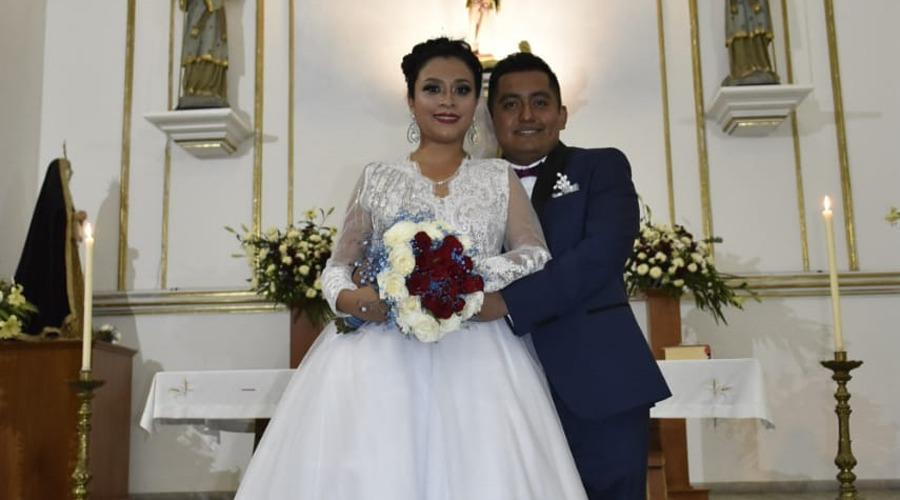 Amairany Escobar y Fernando Rodríguez llegan al altar