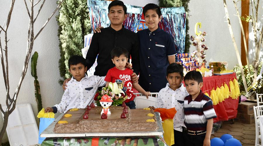 En familia César celebra sus tres primeros años | El Imparcial de Oaxaca