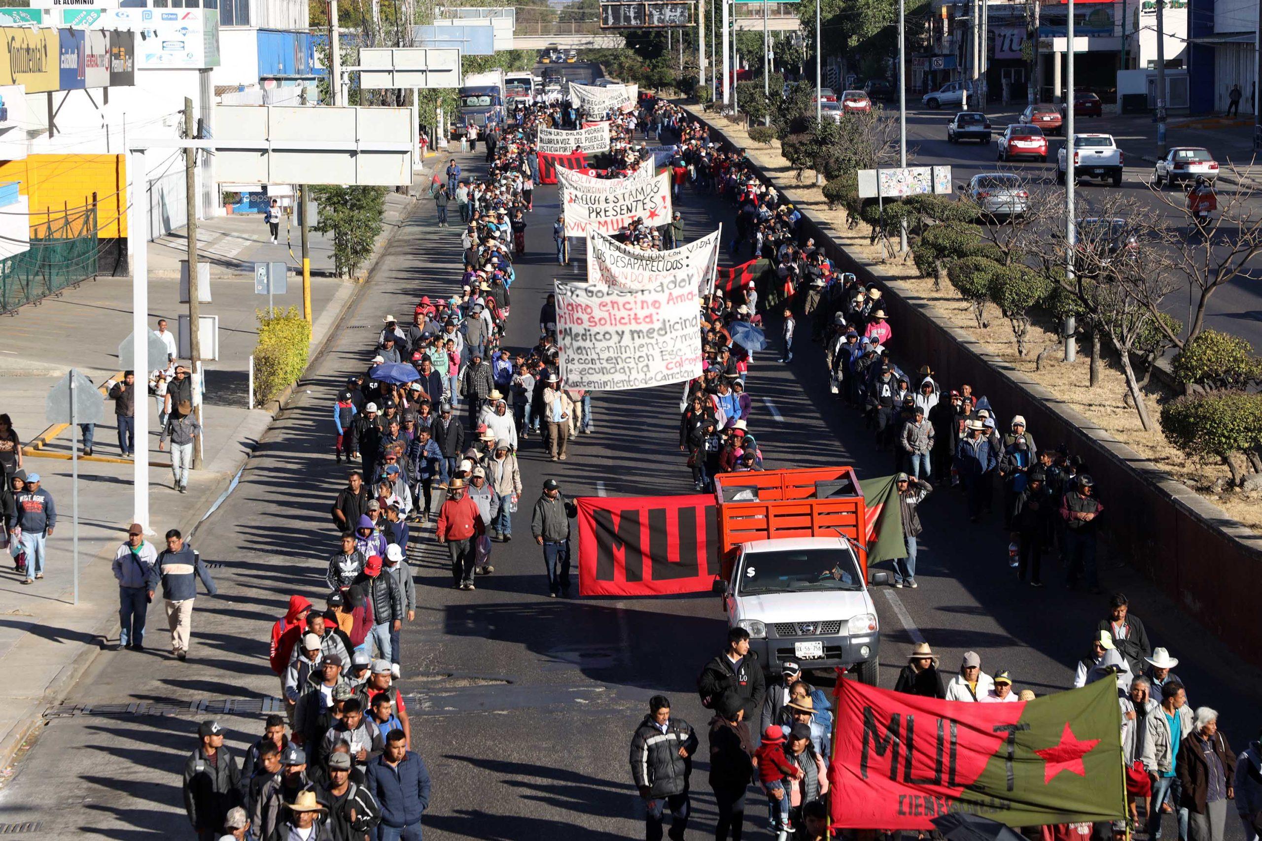 Marcha MULT  para exigir justicia | El Imparcial de Oaxaca
