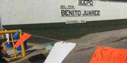 """Toman instalaciones de escuela """"Benito Juárez"""" en Tuxtepec"""
