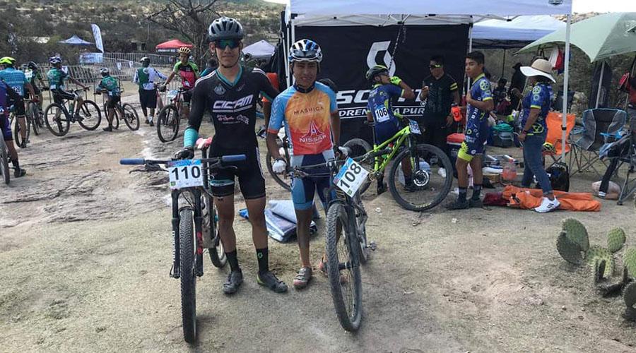 Ciclista Oaxaqueño brilla en Copa Nacional