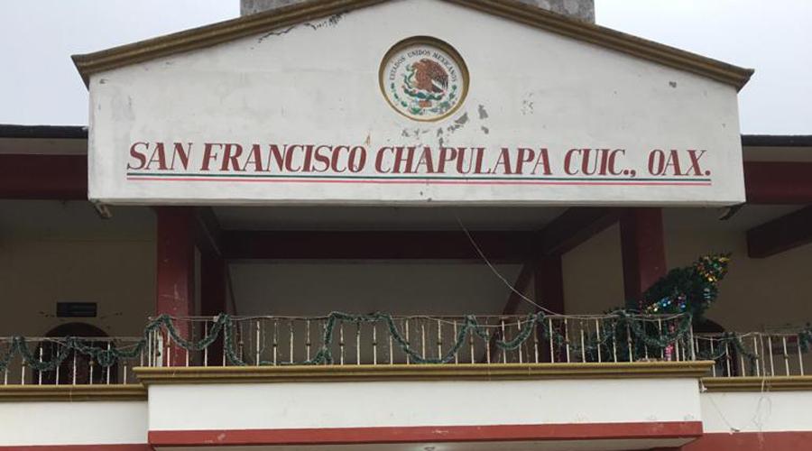 Cumple un mes cerrado el palacio municipal de Chapulapa | El Imparcial de Oaxaca