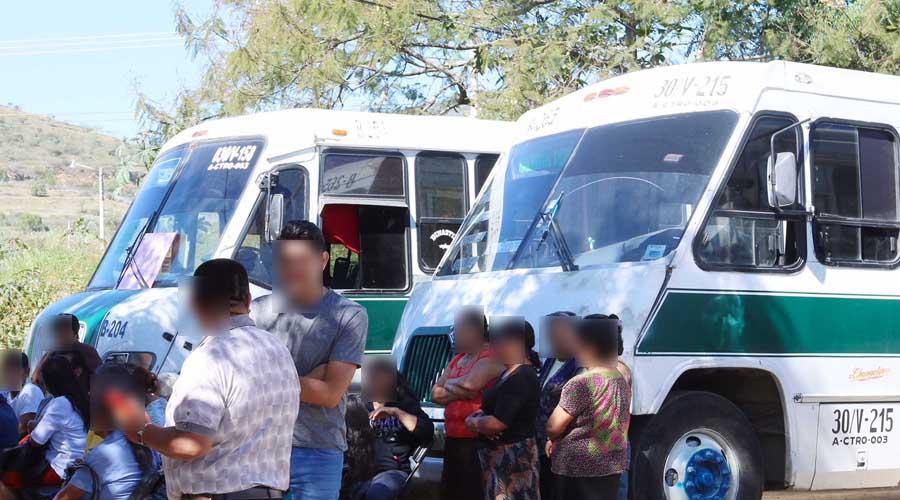 En Oaxaca, perderá Tusug ruta a Volcanes: Semovi | El Imparcial de Oaxaca
