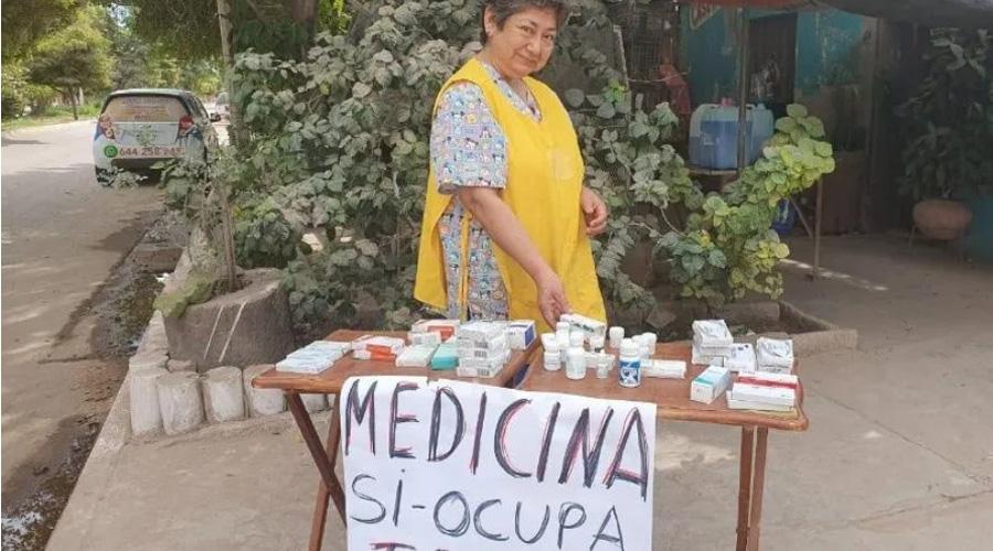 Doña María, la mujer que comparte sus medicinas a quien lo necesite | El Imparcial de Oaxaca