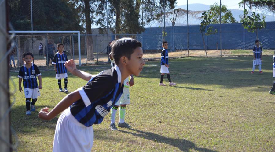 Van por la final de la categoría Átomos, en futbol infantil
