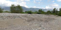 Una mina de oro, extracción de material pétreo en Cuicatlán