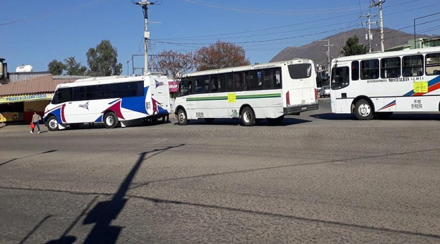 Bloqueos desquician la ciudad y zona conurbada de Oaxaca | El Imparcial de Oaxaca