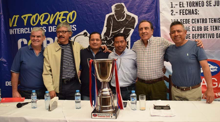Presentan Torneo Interclubes de Tenis 2020 en Oaxaca | El Imparcial de Oaxaca