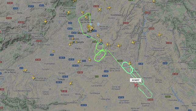 Video: Sin complicaciones, aterriza avión de Air Canada en Madrid | El Imparcial de Oaxaca