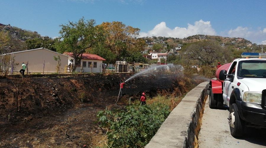 Violento incendio moviliza a los bomberos | El Imparcial de Oaxaca