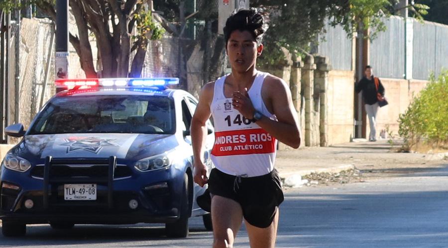 Corren por pura amistad en Santa Lucía del Camino