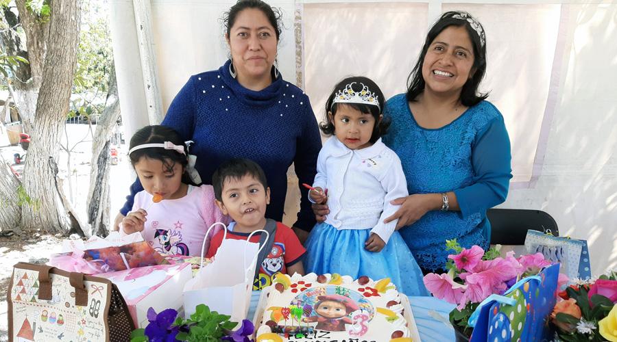 celebrán a Zully, cumple tres años | El Imparcial de Oaxaca