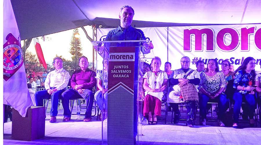 Prometen 'renacimiento' de Morena | El Imparcial de Oaxaca