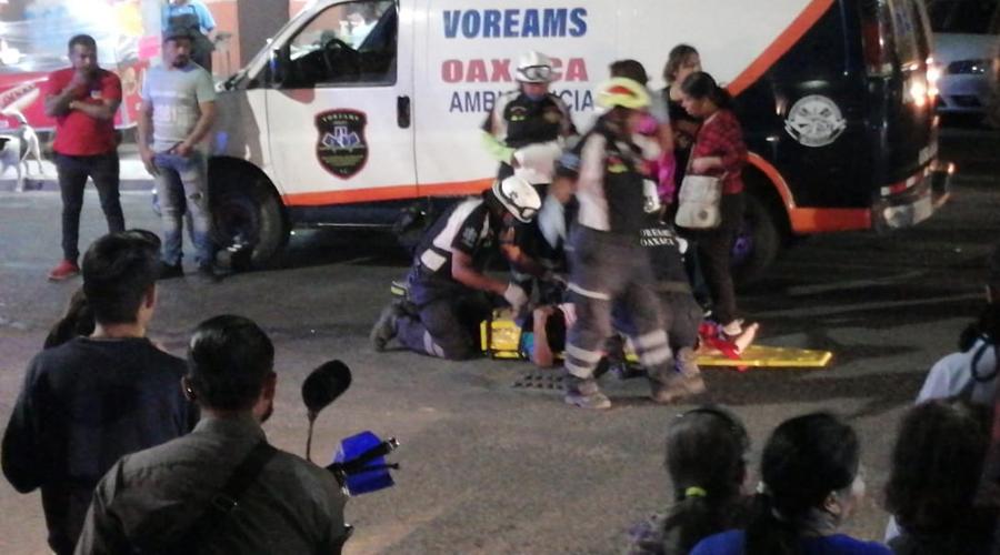 Mujer de la tercera edad muere tras ser atropellada en San Martín Mexicapan