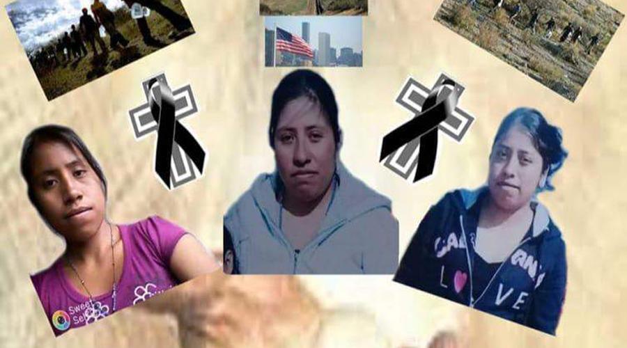 Consulado de México, cubrirá repatriación de restos de 3 migrantes oaxaqueñas | El Imparcial de Oaxaca