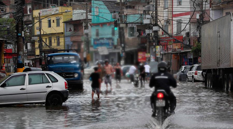 Video: tormenta en Brasil paraliza capital y provoca deslaves en favelas | El Imparcial de Oaxaca