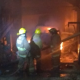 Se quema camioneta en la colonia Siete Regiones de la ciudad de Oaxaca