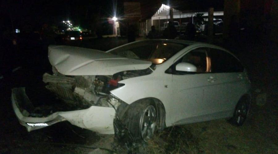 ¡Aparatoso accidente vial en Ánimas Trujano!