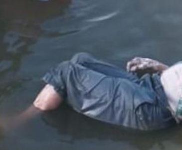Abuelito se ahoga en una represa