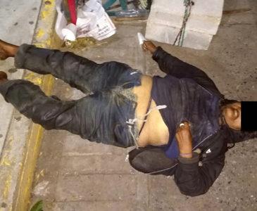 Fallece indigente en el centro de Matías Romero
