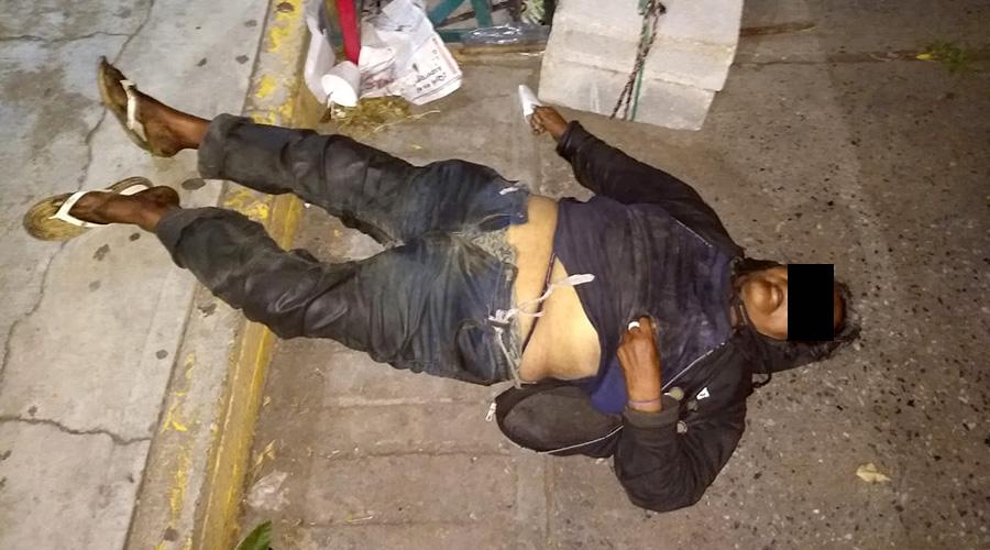 Fallece indigente en el centro de Matías Romero | El Imparcial de Oaxaca