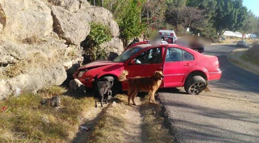 Persona en estado de ebriedad choca contra cerro en Huajuapan | El Imparcial de Oaxaca