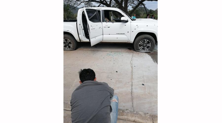 Acribillan a ex-edil de San Miguel Soyaltepec