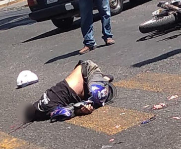 Identifican al motociclista atropellado sobre el Periférico