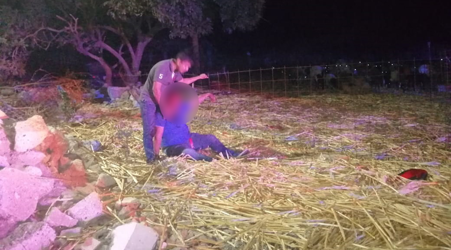 Motociclista derrapa violentamente en Tehuantepec | El Imparcial de Oaxaca