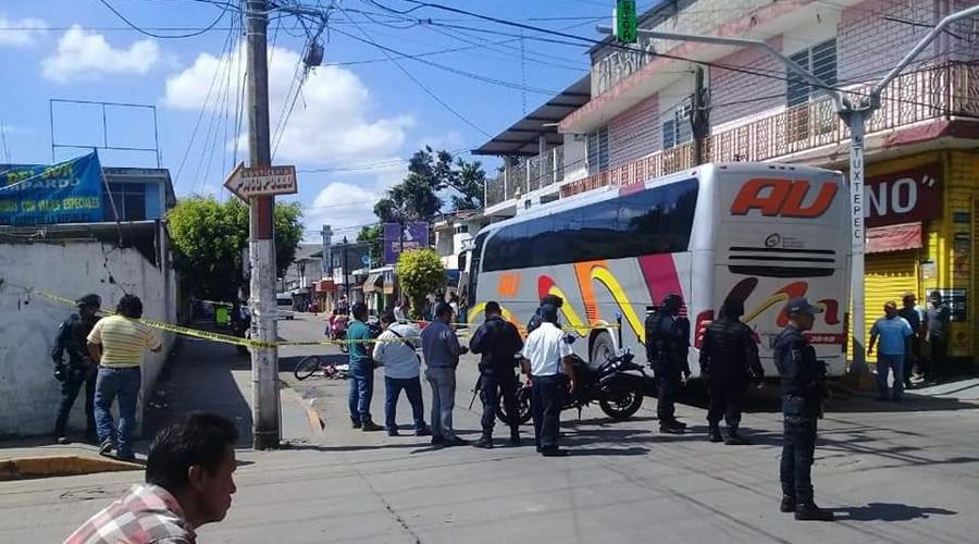 Urbanero atropella  y mata a un albañil | El Imparcial de Oaxaca