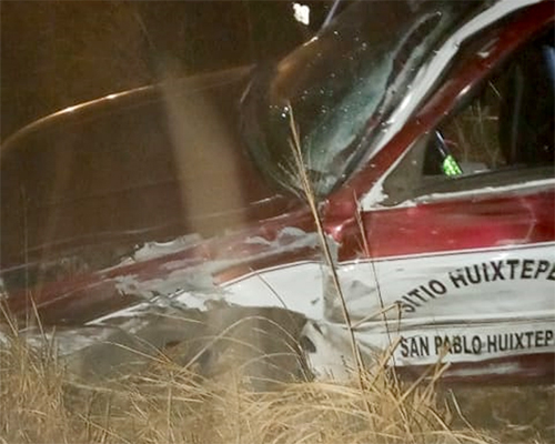 ¡Brutal accidente en San Bartolo Coyotepec!